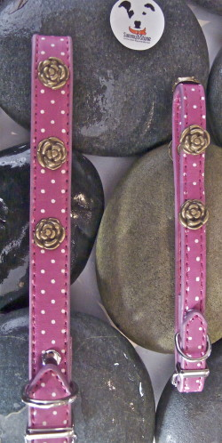 Dog Collar Rose